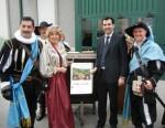 Tiletto donato all'assessore regionale all'agricoltura Sacchetto