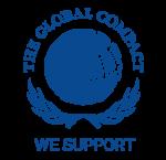 Logo the global compact